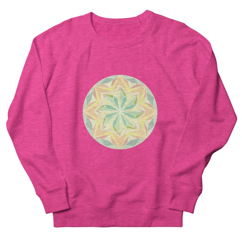 Kaleidoscope Colour Men's Sweatshirt by Donal Mangan's Artist Shop