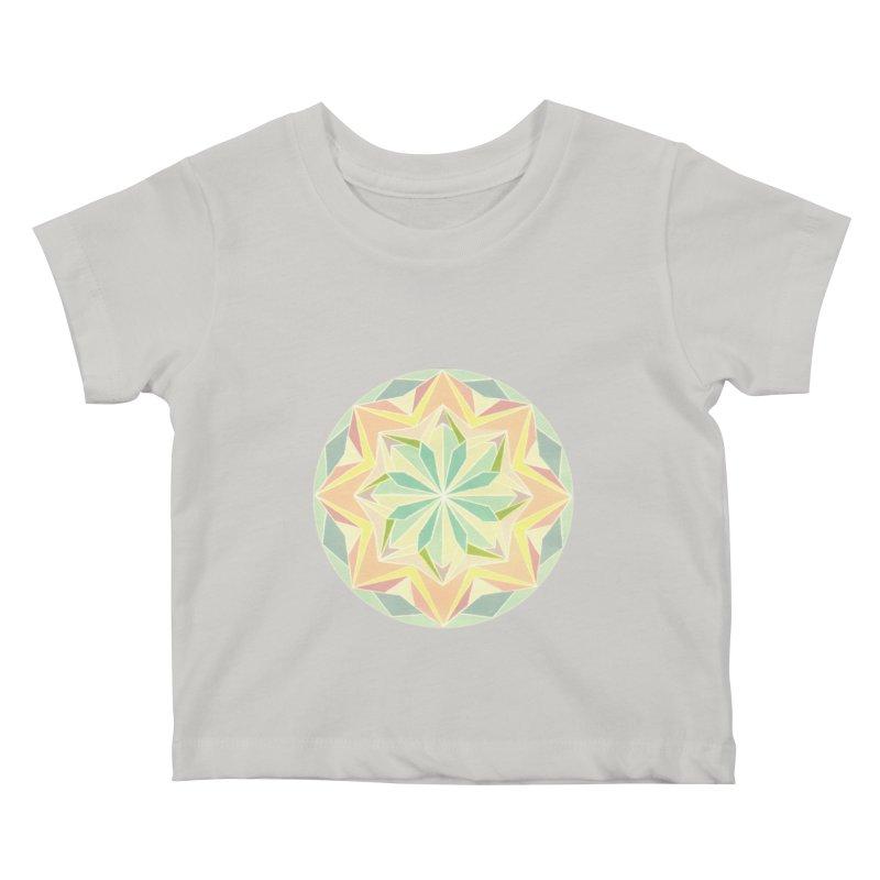 Kaleidoscope Colour Kids Baby T-Shirt by Donal Mangan's Artist Shop