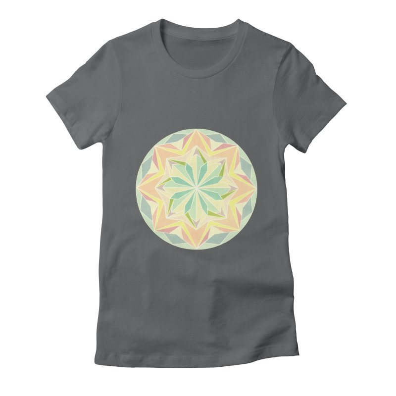 Kaleidoscope Colour Women's T-Shirt by Donal Mangan's Artist Shop