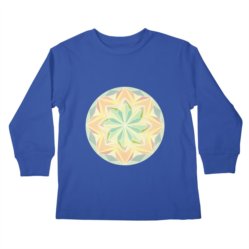 Kaleidoscope Colour Kids Longsleeve T-Shirt by Donal Mangan's Artist Shop