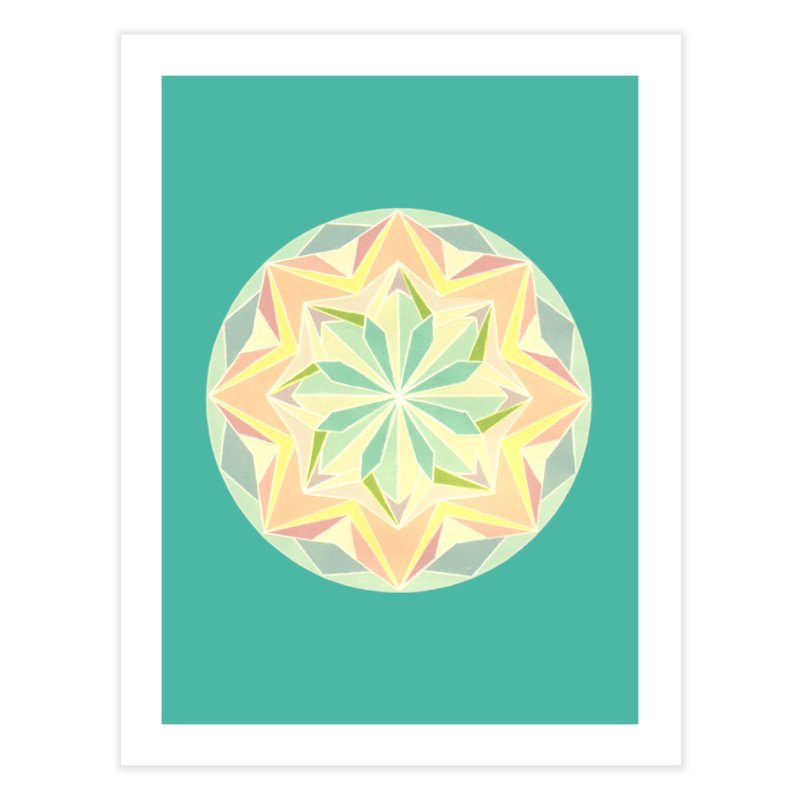 Kaleidoscope Colour Home Fine Art Print by Donal Mangan's Artist Shop
