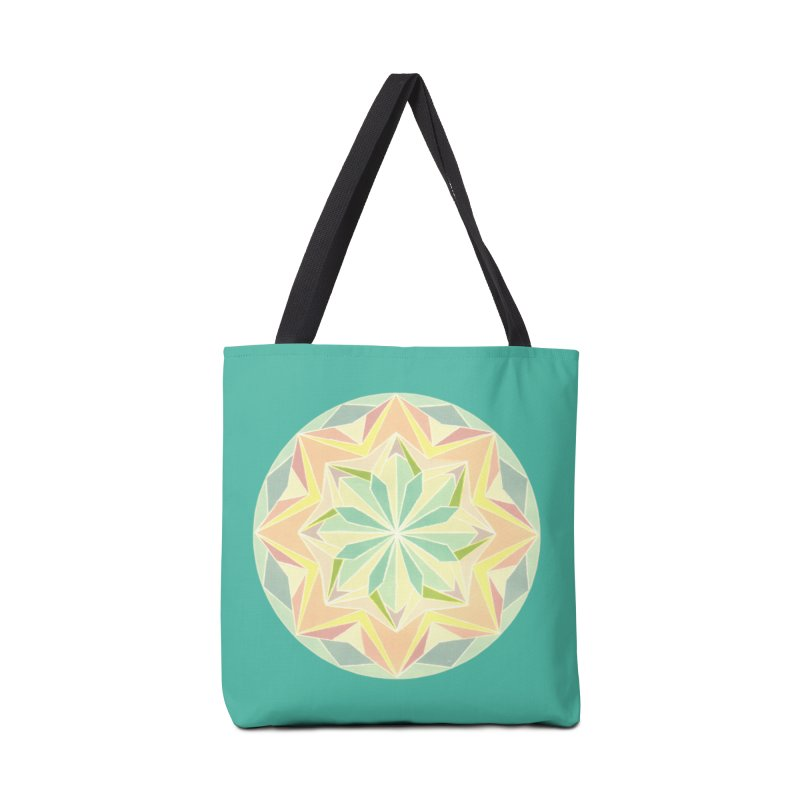 Kaleidoscope Colour Accessories Bag by Donal Mangan's Artist Shop