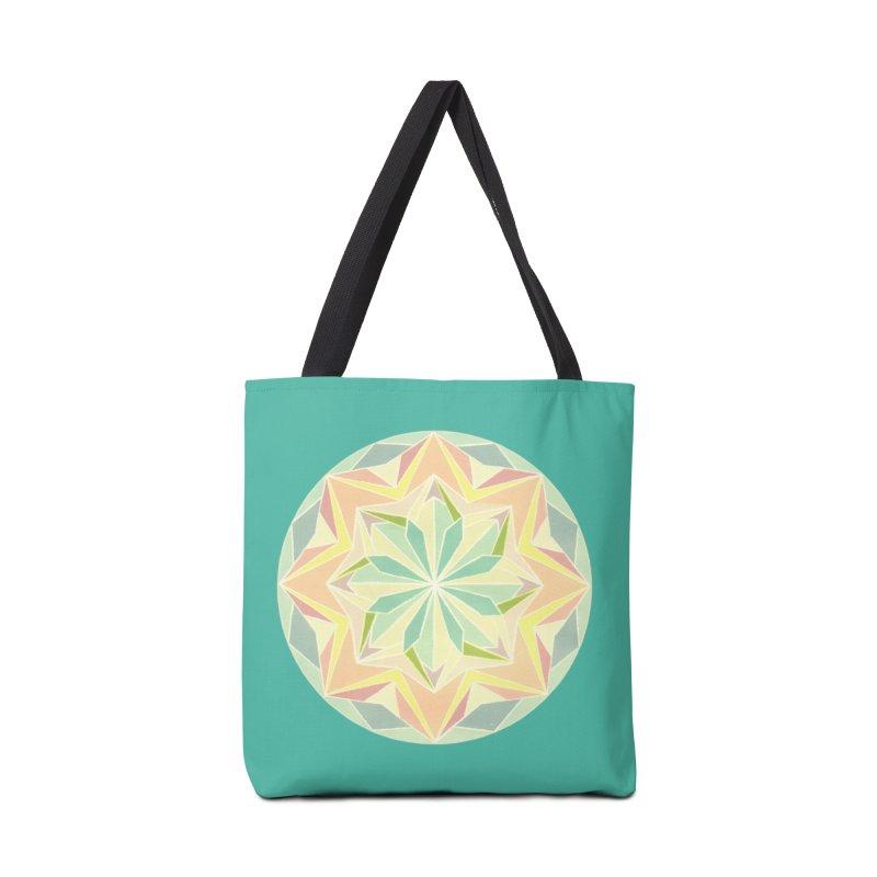 Kaleidoscope Colour Accessories Bag by Donal Mangan's Artist Shop