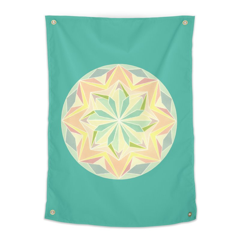Kaleidoscope Colour Home Tapestry by Donal Mangan's Artist Shop