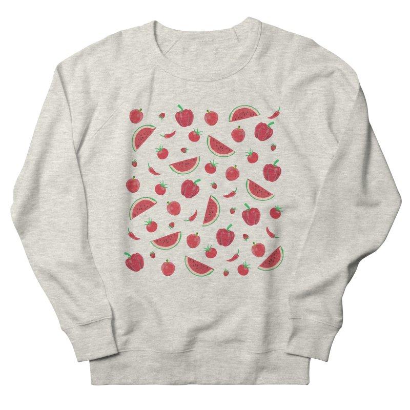 Red Fruit Men's Sweatshirt by Donal Mangan's Artist Shop
