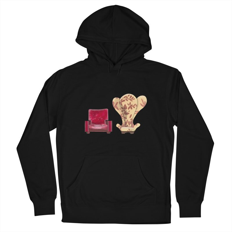 You and me, we're in a club now. Women's French Terry Pullover Hoody by Donal Mangan's Artist Shop