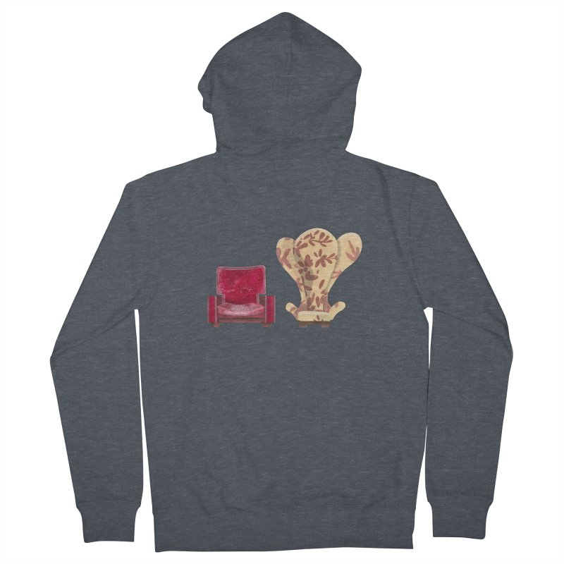You and me, we're in a club now. Men's French Terry Zip-Up Hoody by Donal Mangan's Artist Shop