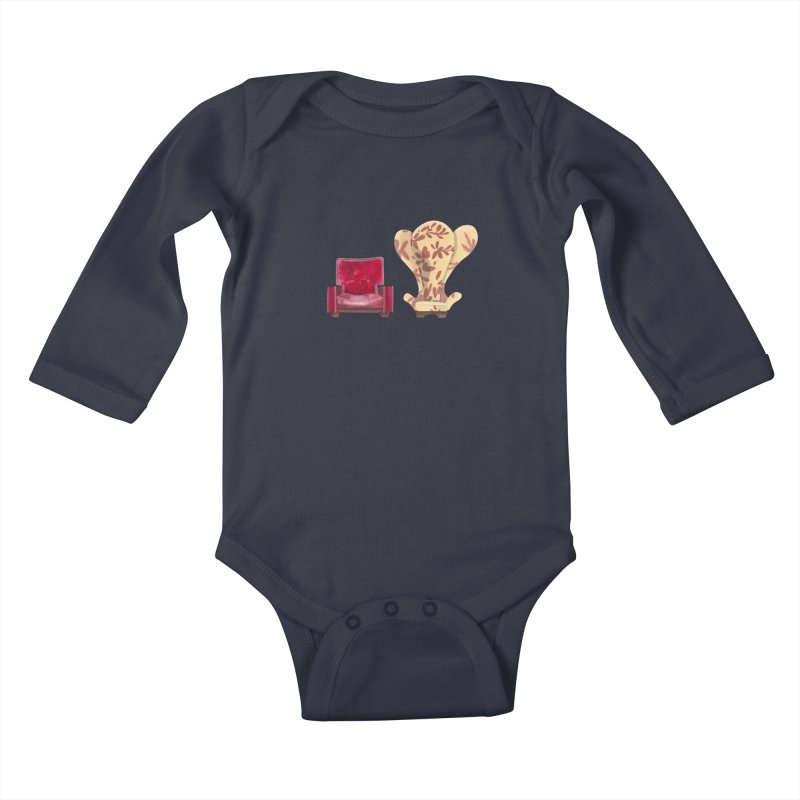 You and me, we're in a club now. Kids Baby Longsleeve Bodysuit by Donal Mangan's Artist Shop