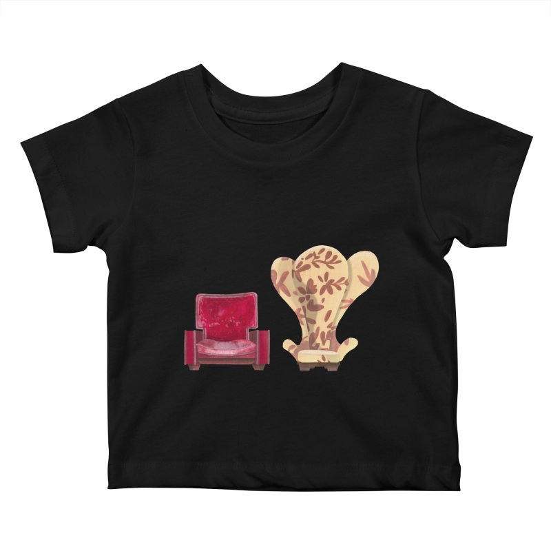 You and me, we're in a club now. Kids Baby T-Shirt by Donal Mangan's Artist Shop