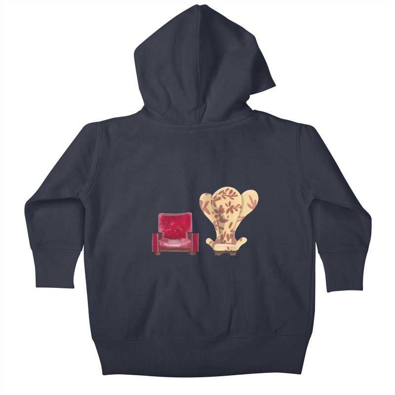 You and me, we're in a club now. Kids Baby Zip-Up Hoody by Donal Mangan's Artist Shop