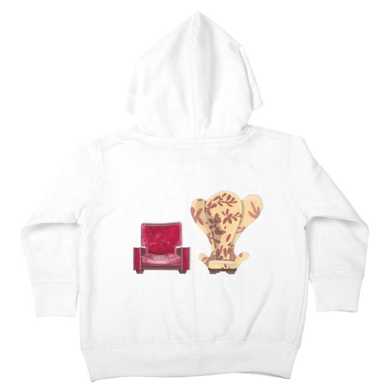 You and me, we're in a club now. Kids Toddler Zip-Up Hoody by Donal Mangan's Artist Shop