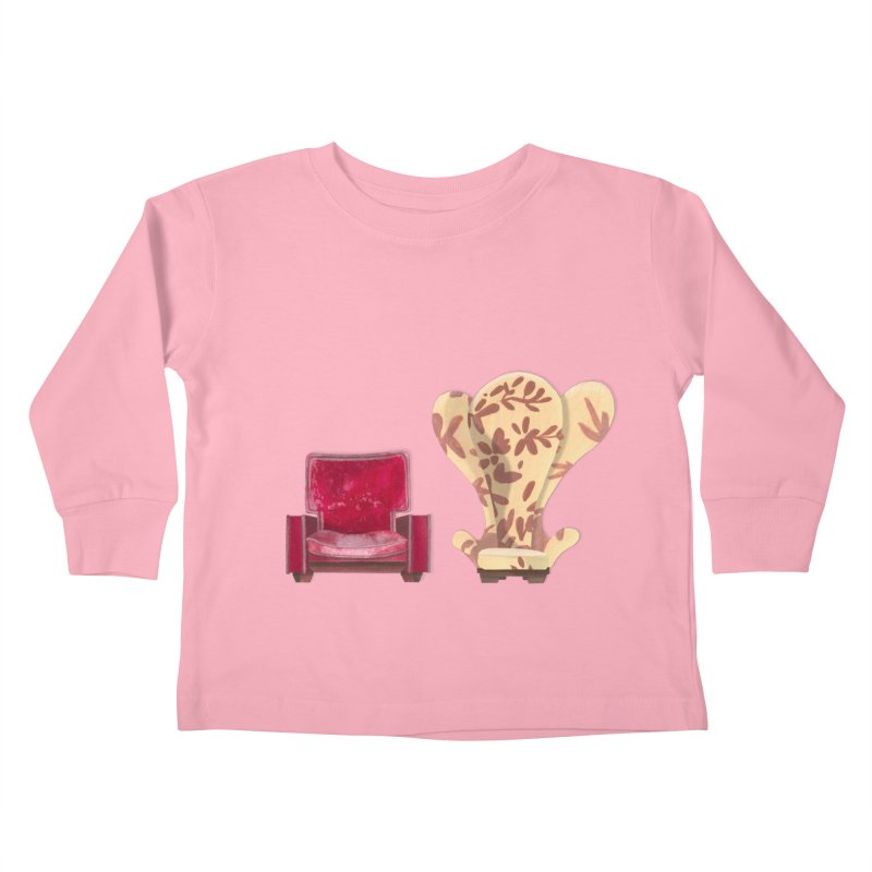 You and me, we're in a club now. Kids Toddler Longsleeve T-Shirt by Donal Mangan's Artist Shop