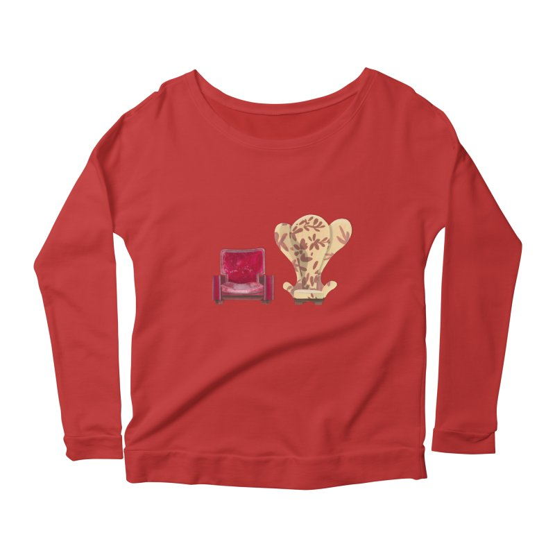 You and me, we're in a club now. Women's Longsleeve Scoopneck  by Donal Mangan's Artist Shop