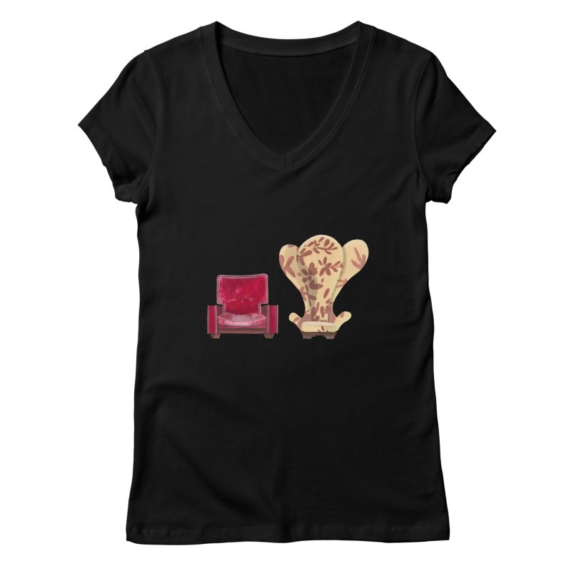 You and me, we're in a club now. Women's Regular V-Neck by Donal Mangan's Artist Shop