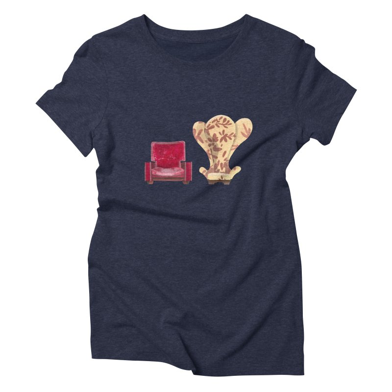 You and me, we're in a club now. Women's Triblend T-shirt by Donal Mangan's Artist Shop