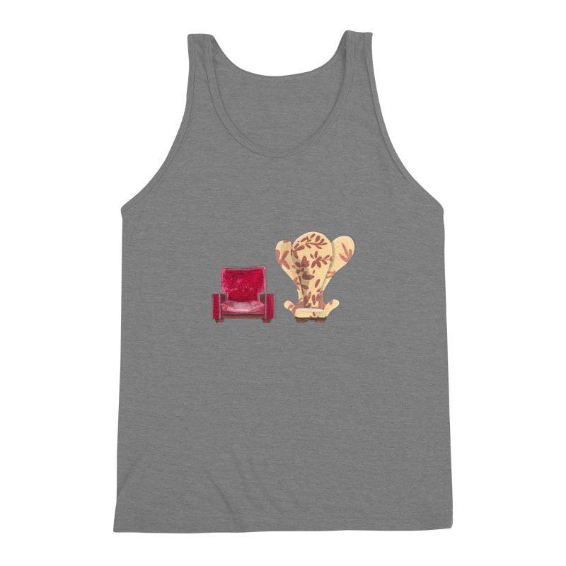 You and me, we're in a club now. Men's Triblend Tank by Donal Mangan's Artist Shop