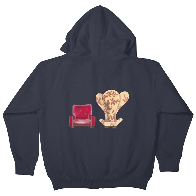 You and me, we're in a club now. Kids Zip-Up Hoody by Donal Mangan's Artist Shop
