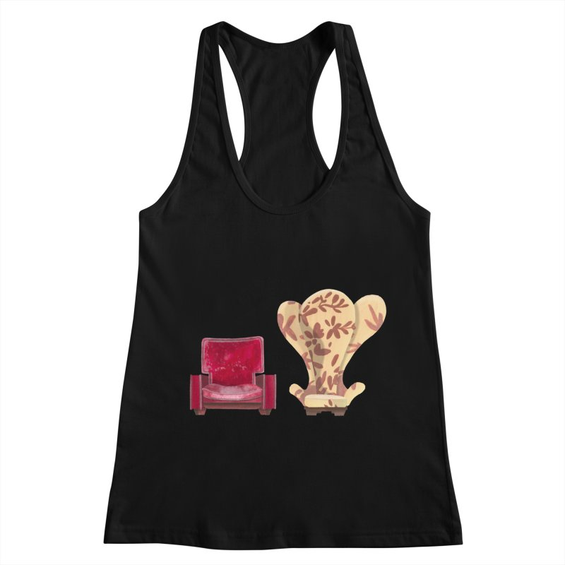 You and me, we're in a club now. Women's Racerback Tank by Donal Mangan's Artist Shop