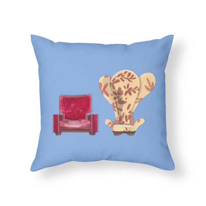 You and me, we're in a club now. Home Throw Pillow by Donal Mangan's Artist Shop