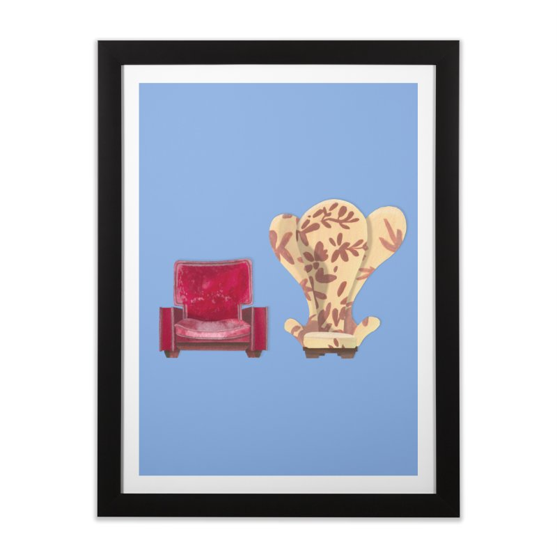 You and me, we're in a club now. Home Framed Fine Art Print by Donal Mangan's Artist Shop