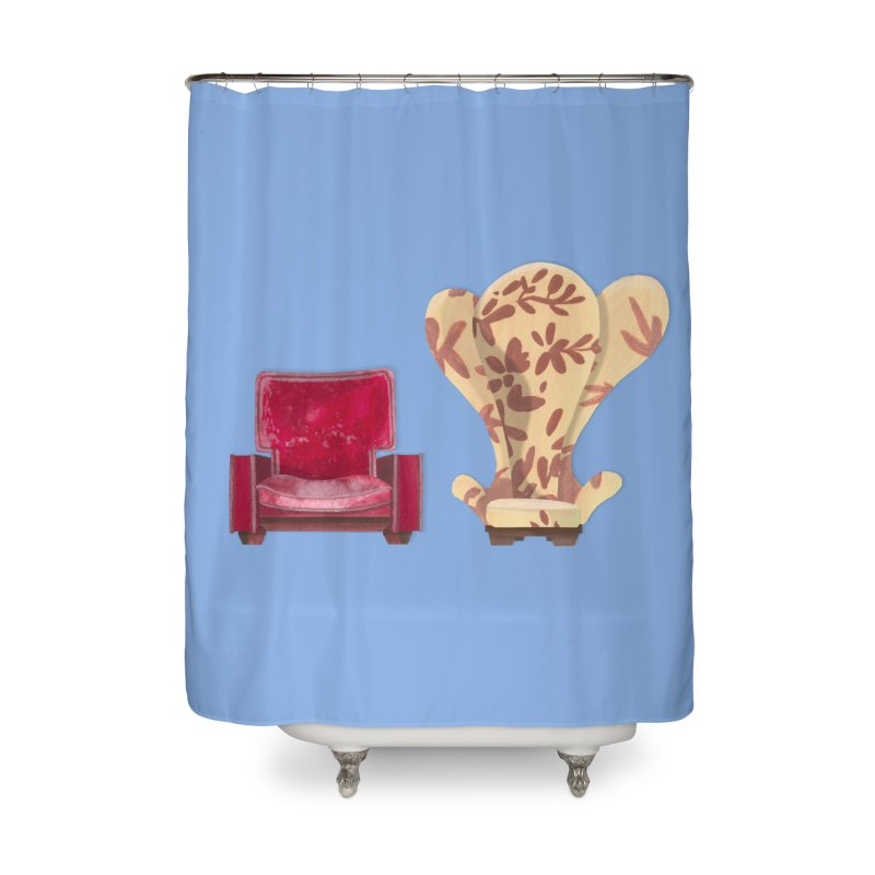 You and me, we're in a club now. Home Shower Curtain by Donal Mangan's Artist Shop