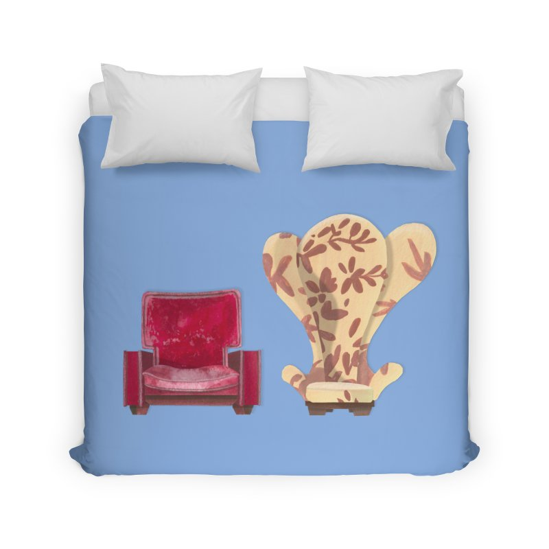 You and me, we're in a club now. Home Duvet by Donal Mangan's Artist Shop