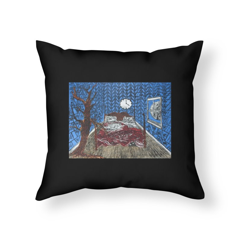 Sweet Dreams Home Throw Pillow by donhudgins's Artist Shop