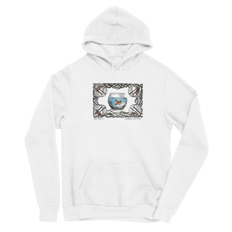 Wage Slave Men's Pullover Hoody by donhudgins's Artist Shop