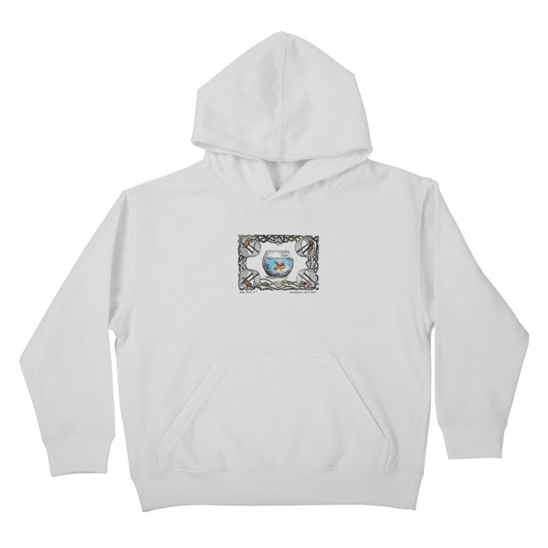 Wage Slave Kids Pullover Hoody by donhudgins's Artist Shop