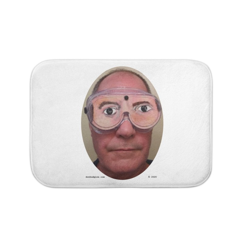 Self Portrait Home Bath Mat by donhudgins's Artist Shop