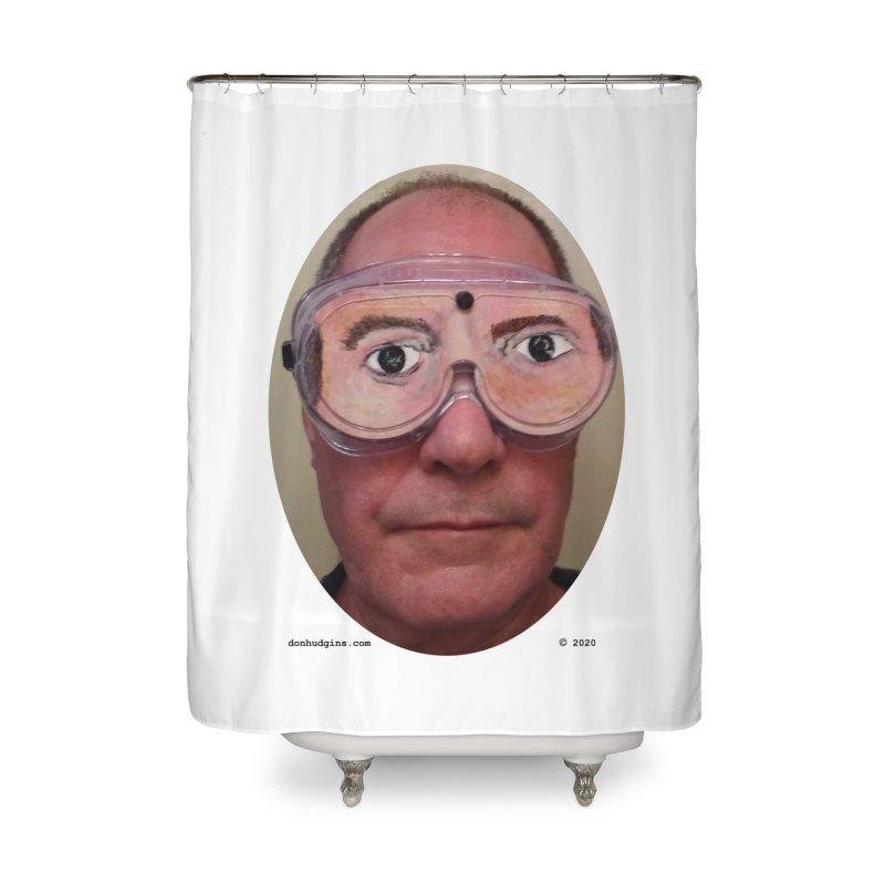 Self Portrait Home Shower Curtain by donhudgins's Artist Shop