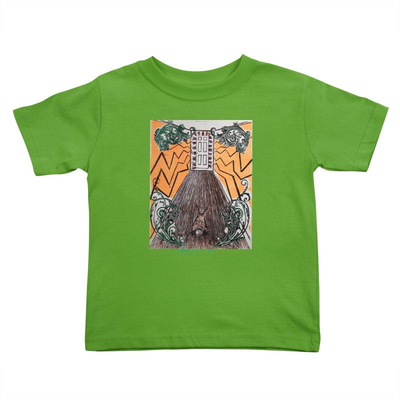 Exit Kids Toddler T-Shirt by donhudgins's Artist Shop