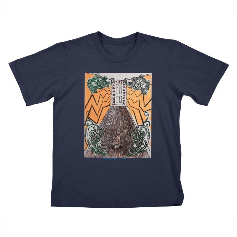 Exit Kids T-Shirt by donhudgins's Artist Shop