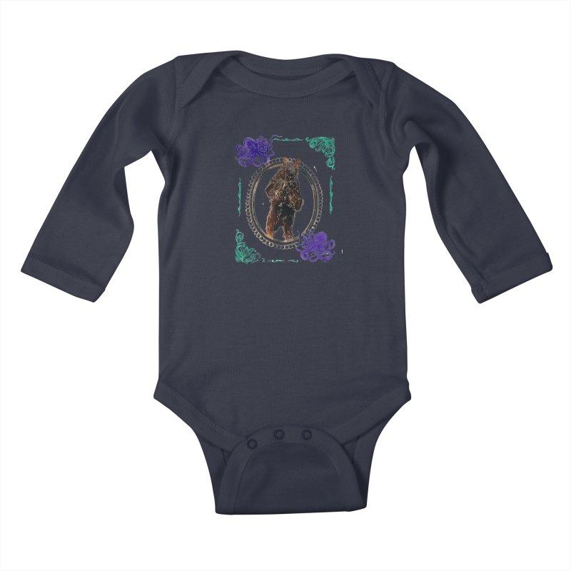 Dinner Kids Baby Longsleeve Bodysuit by donhudgins's Artist Shop