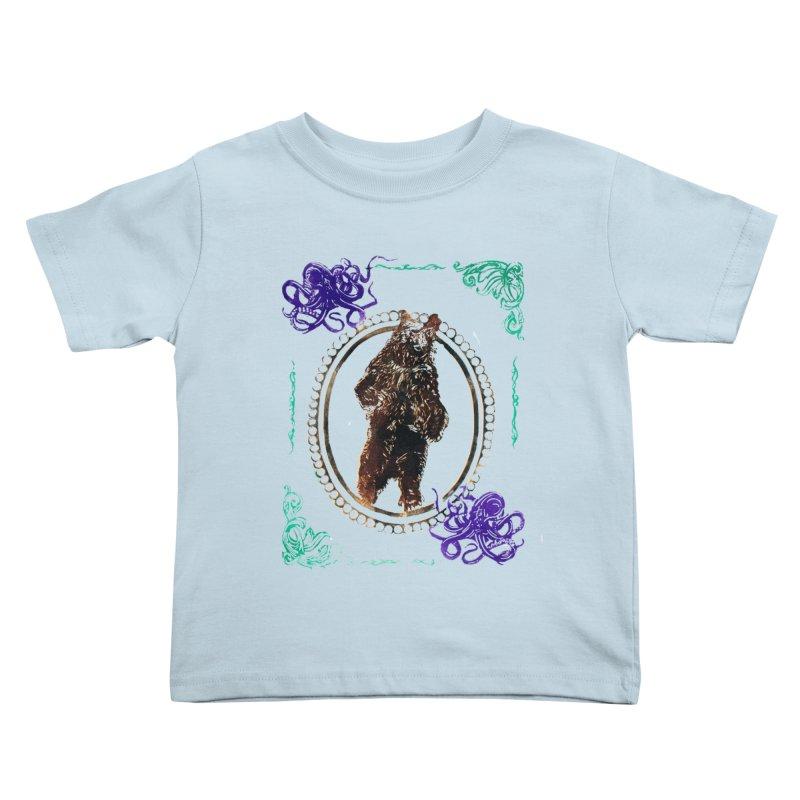 Dinner Kids Toddler T-Shirt by donhudgins's Artist Shop