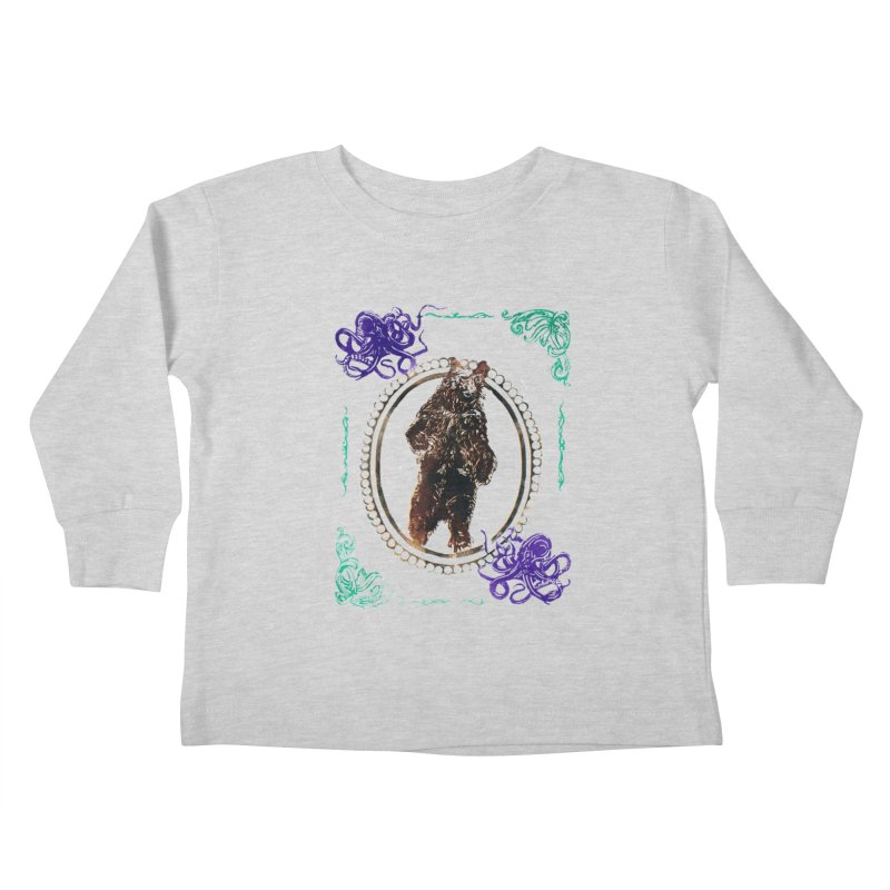 Dinner Kids Toddler Longsleeve T-Shirt by donhudgins's Artist Shop