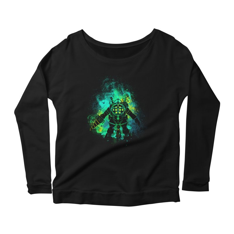 Rapture Art Women's Longsleeve Scoopneck  by Donnie's Artist Shop