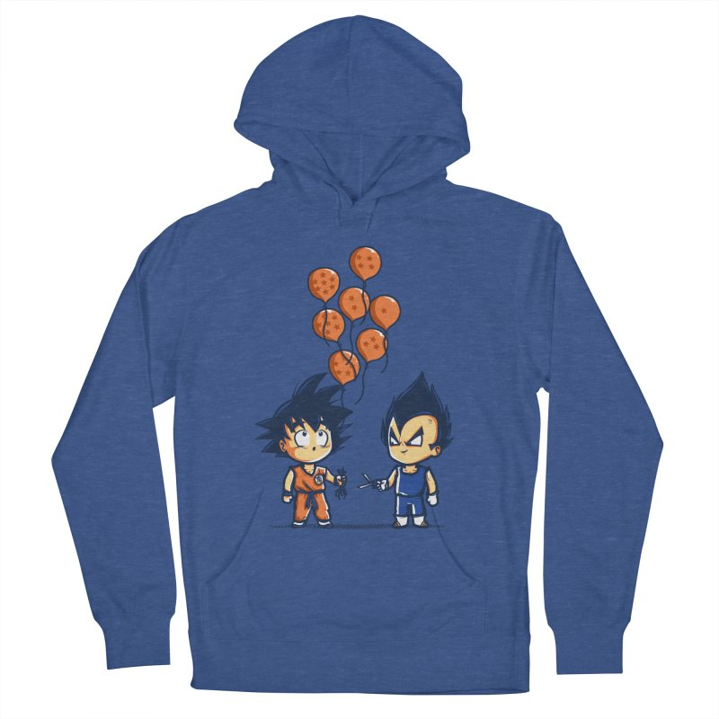 Crystal Balloons Men's Pullover Hoody by Donnie's Artist Shop