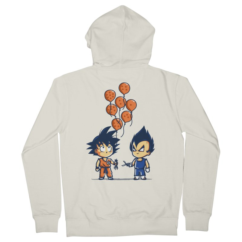 Crystal Balloons Men's Zip-Up Hoody by Donnie's Artist Shop