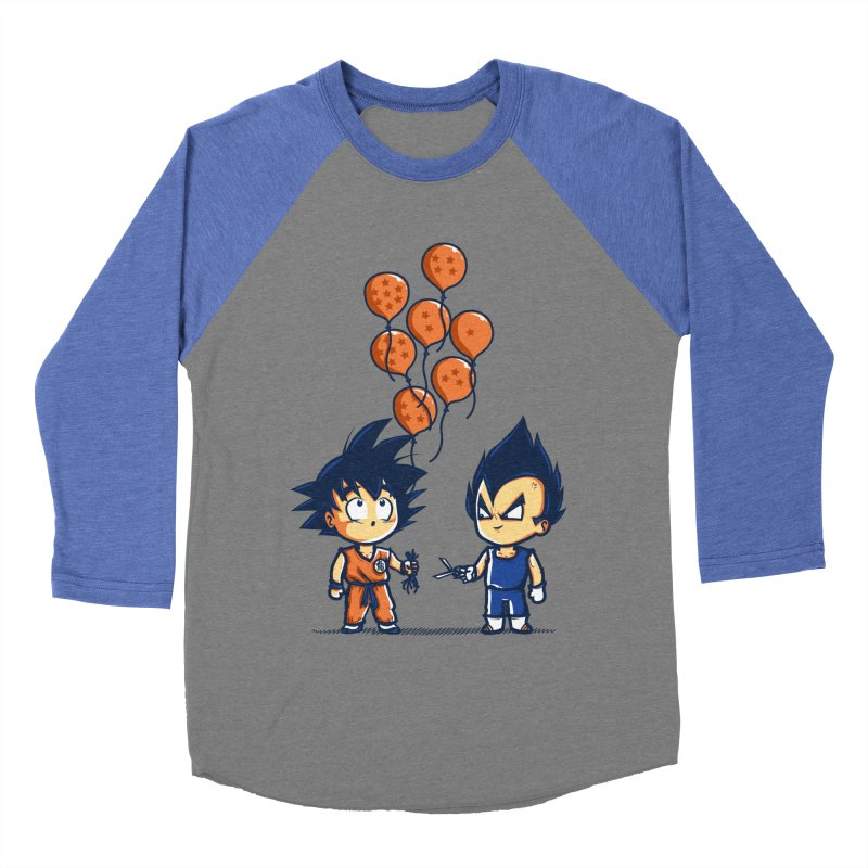 Crystal Balloons Men's Baseball Triblend T-Shirt by Donnie's Artist Shop
