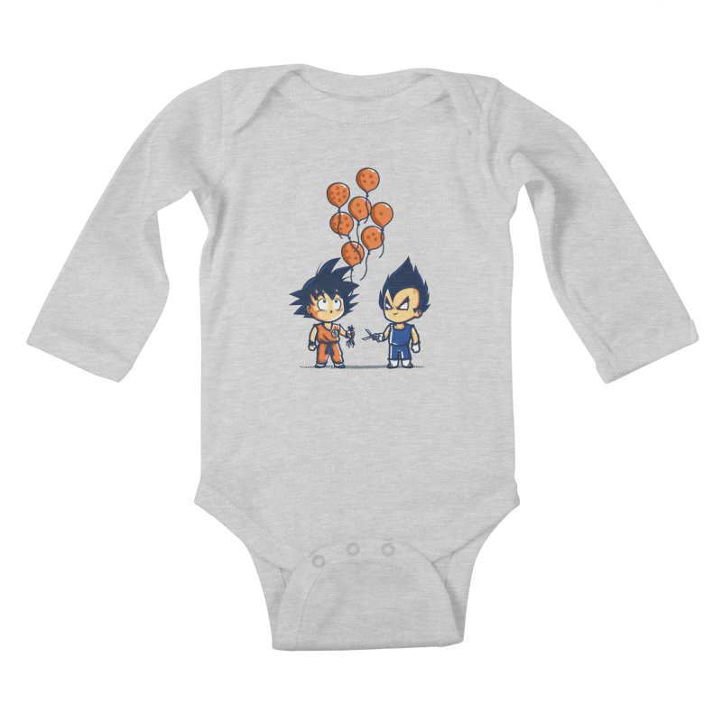 Crystal Balloons Kids Baby Longsleeve Bodysuit by Donnie's Artist Shop