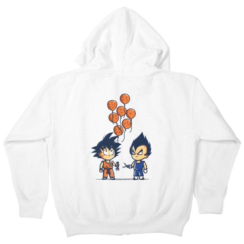 Crystal Balloons Kids Zip-Up Hoody by Donnie's Artist Shop