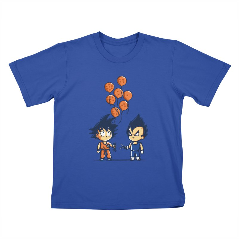 Crystal Balloons Kids T-shirt by Donnie's Artist Shop