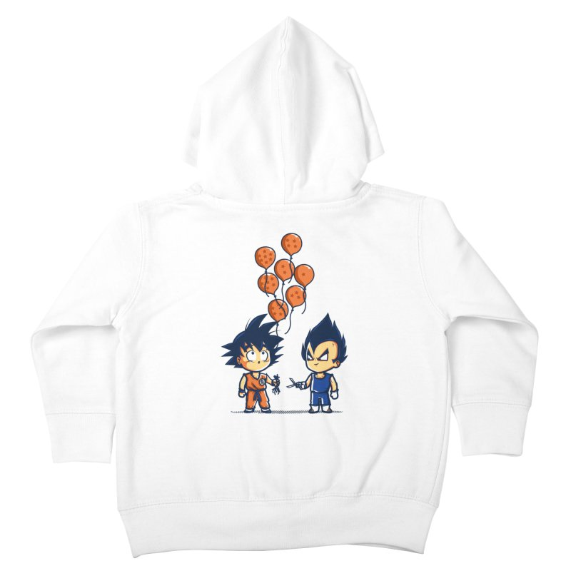 Crystal Balloons Kids Toddler Zip-Up Hoody by Donnie's Artist Shop