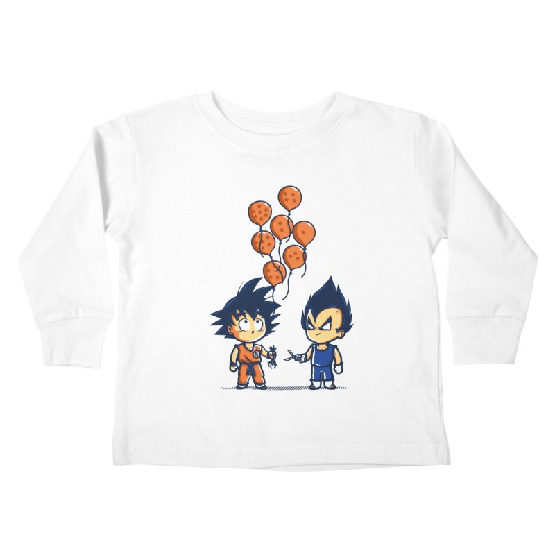 Crystal Balloons Kids Toddler Longsleeve T-Shirt by Donnie's Artist Shop