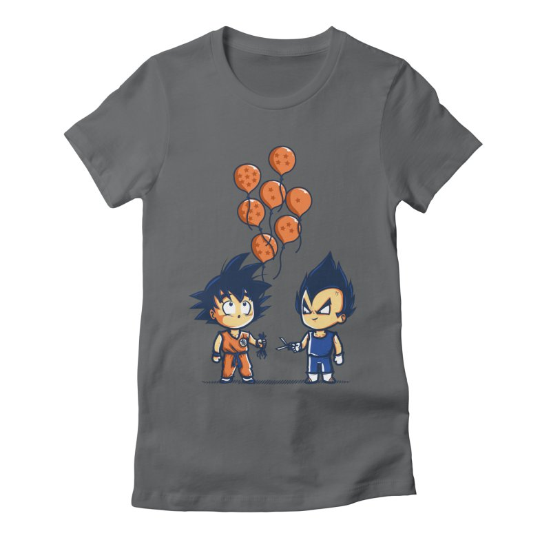 Crystal Balloons Women's Fitted T-Shirt by Donnie's Artist Shop