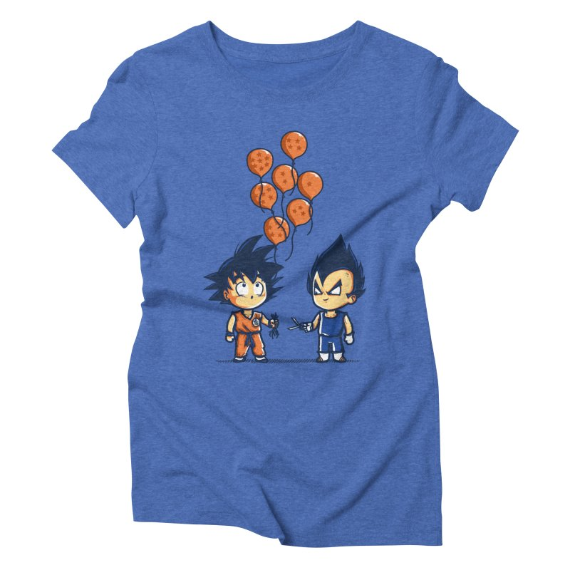 Crystal Balloons Women's Triblend T-shirt by Donnie's Artist Shop