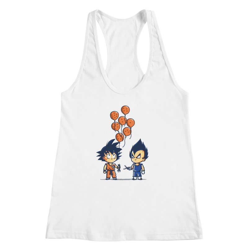 Crystal Balloons Women's Racerback Tank by Donnie's Artist Shop