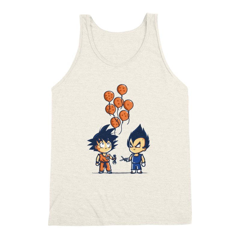 Crystal Balloons Men's Triblend Tank by Donnie's Artist Shop