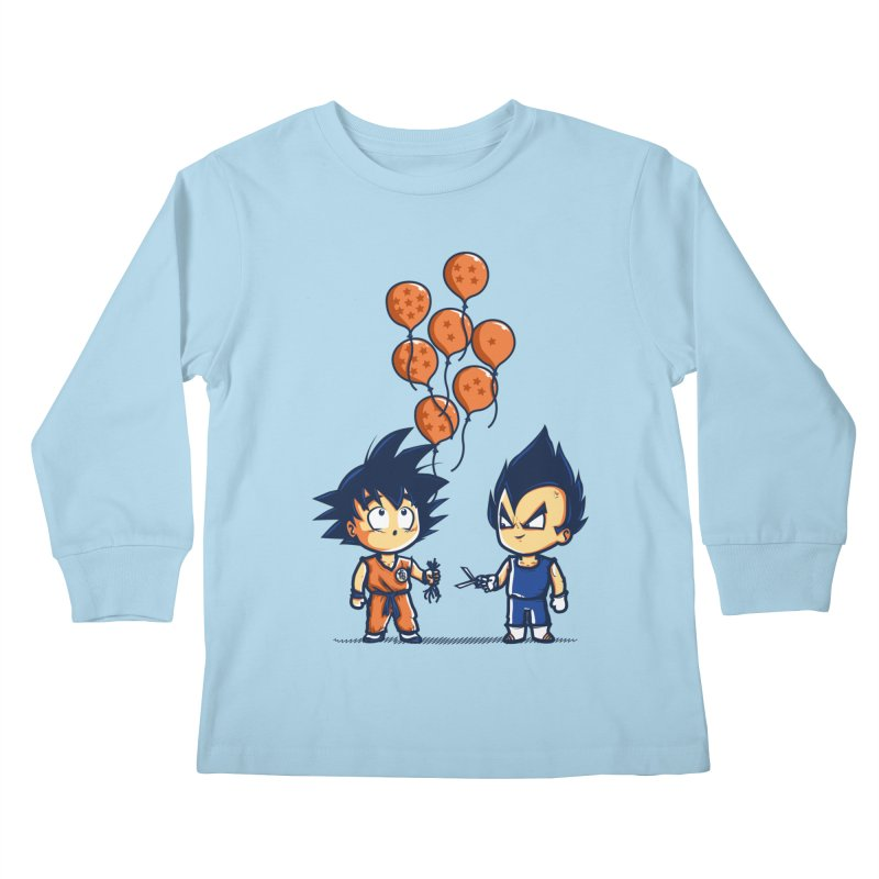 Crystal Balloons Kids Longsleeve T-Shirt by Donnie's Artist Shop